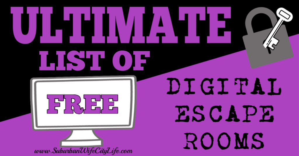 Ultimate Free Digital Escape Rooms