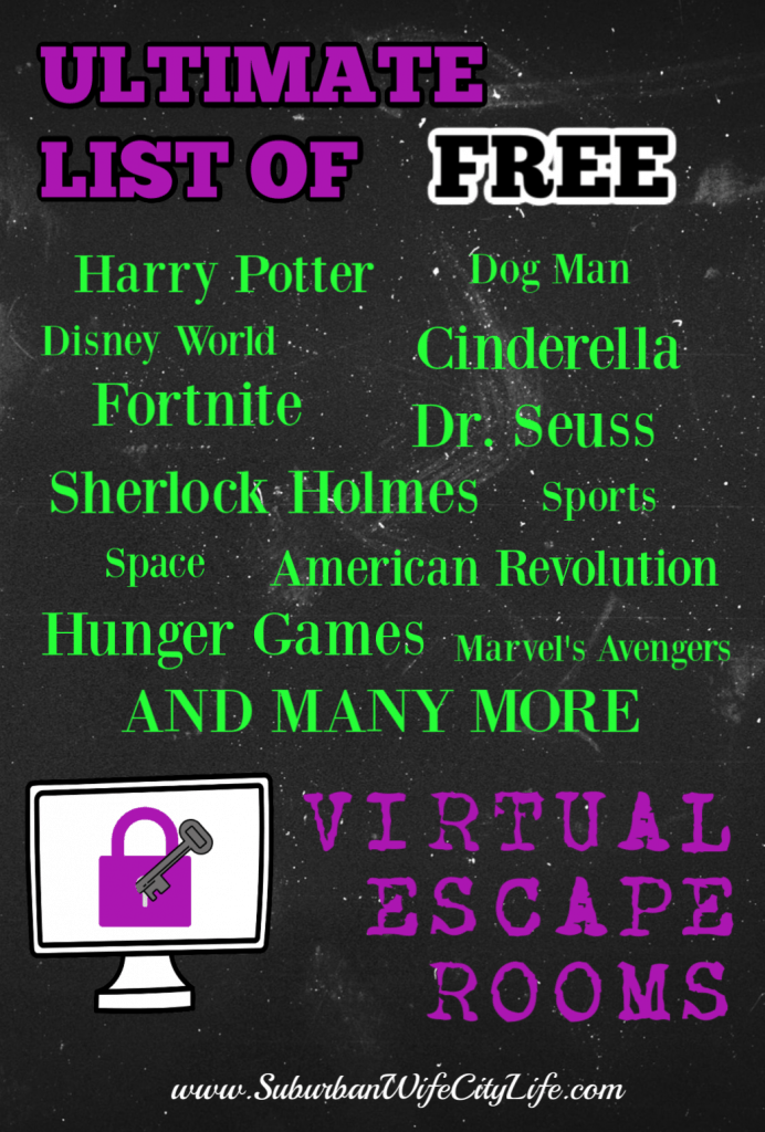 Free Virtual Escape Rooms