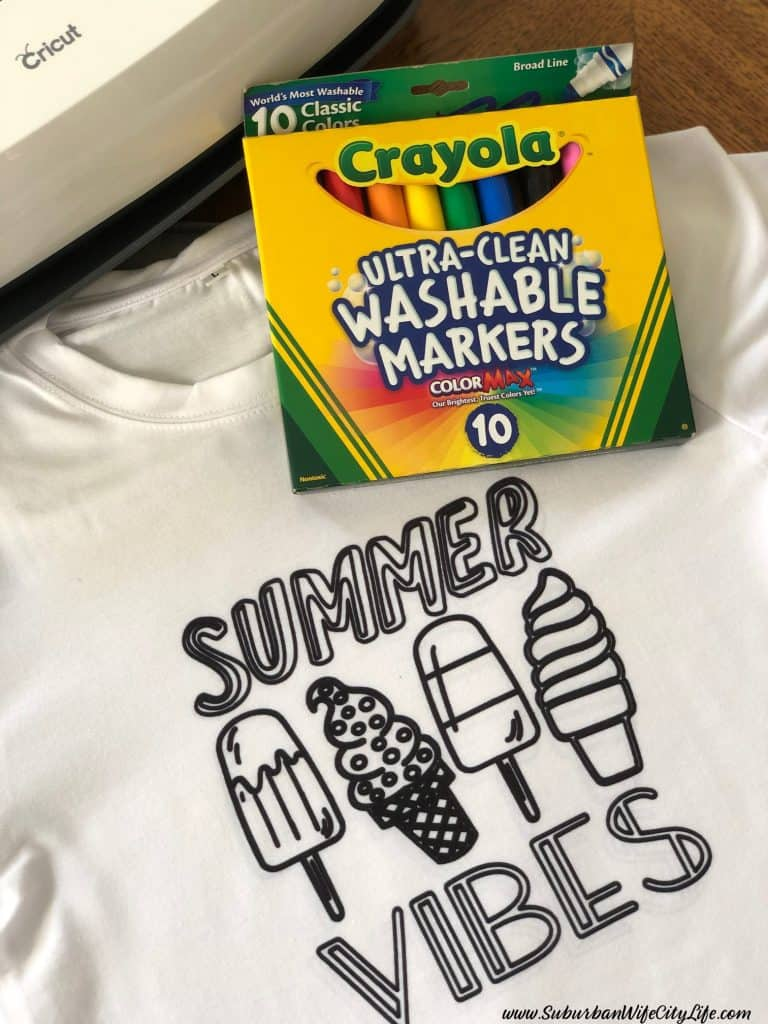 DIY Coloring Shirt