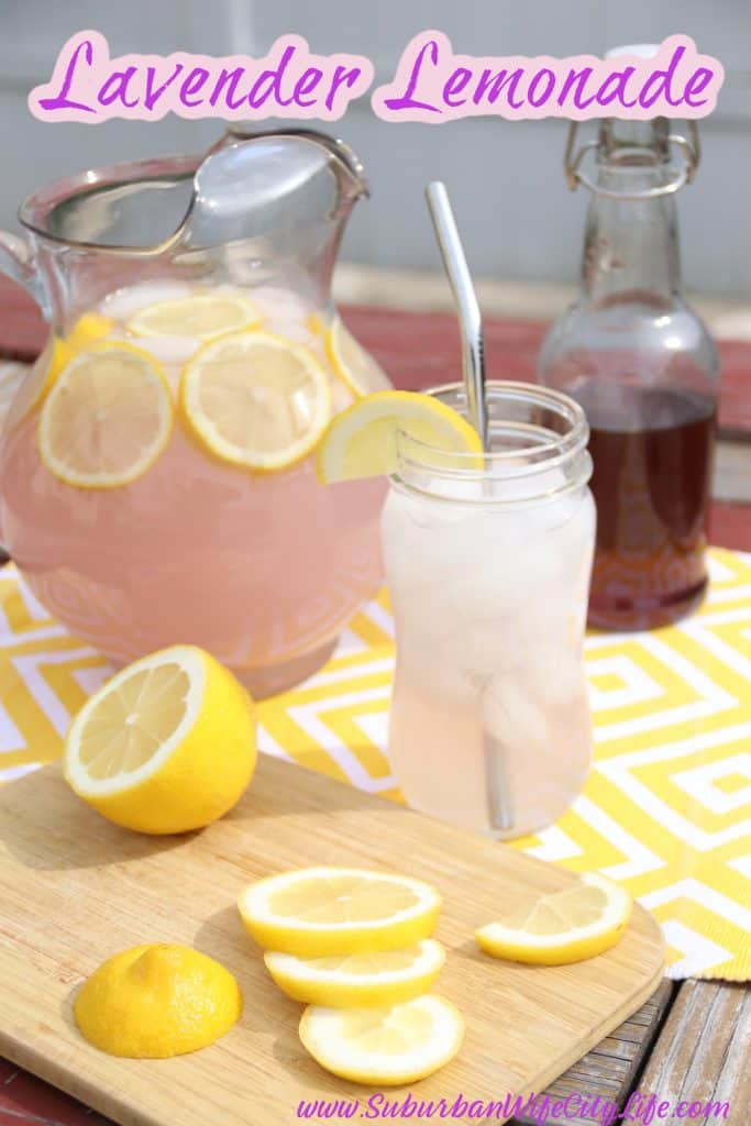 Lavender lemonade syrup recipe