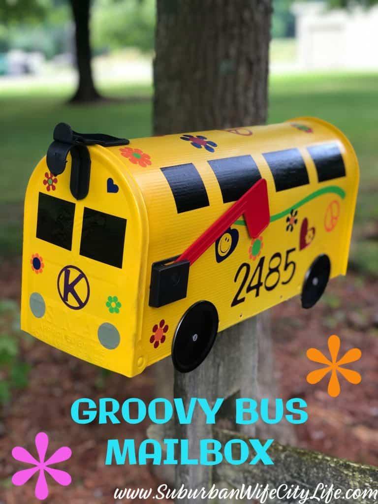 Groovy Bus Mailbox