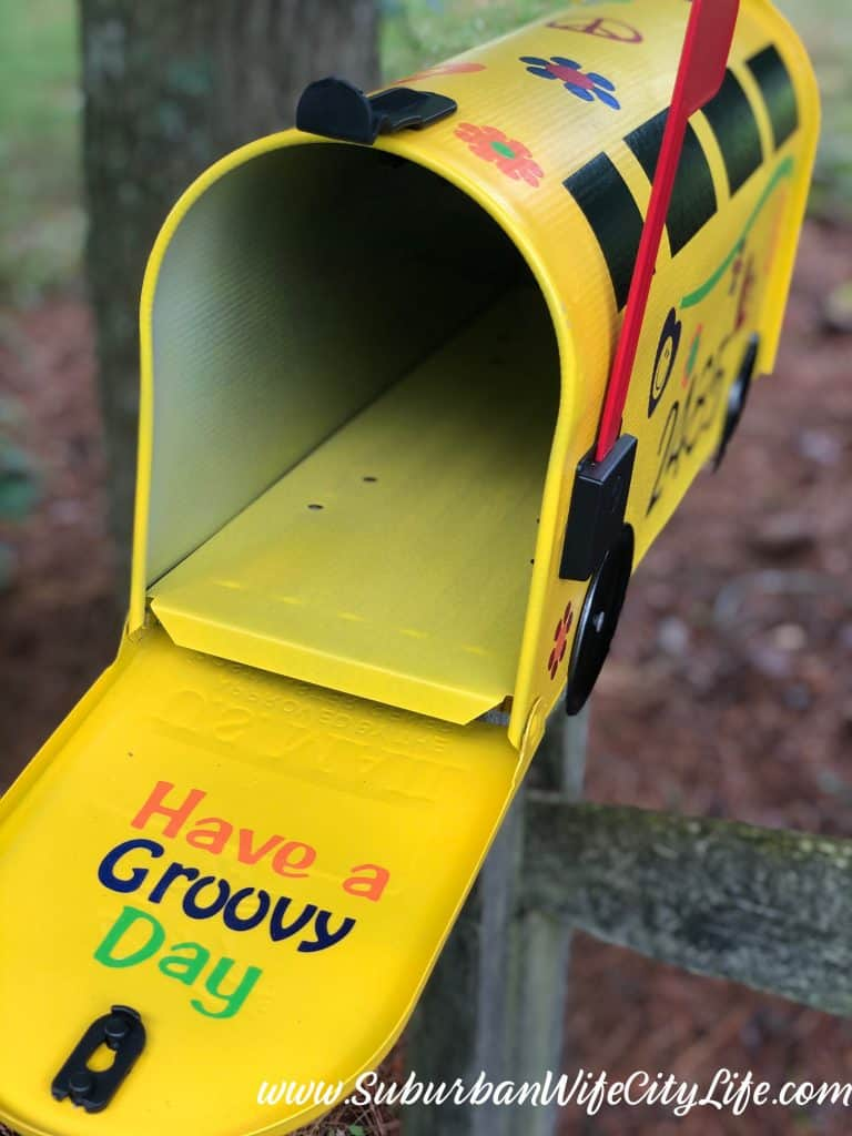 Have a Groovy Day Mailbox