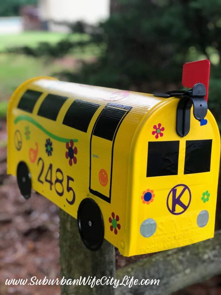 Hippie Bus Mailbox