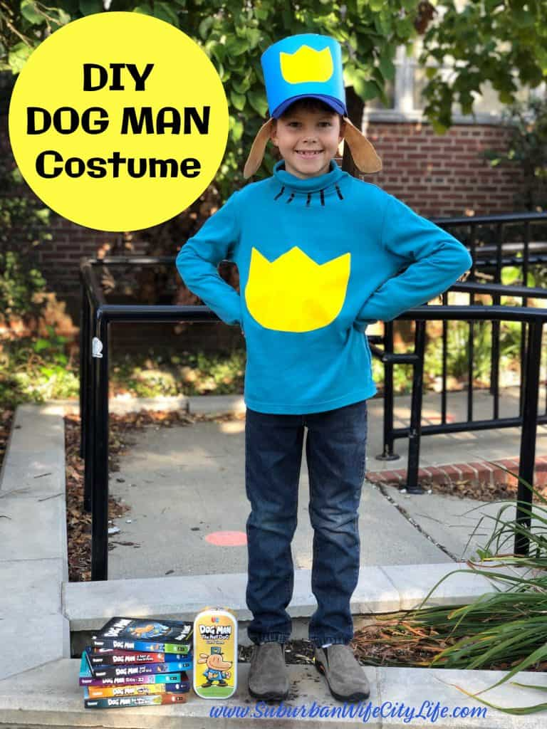 DIY Dog Man Costume