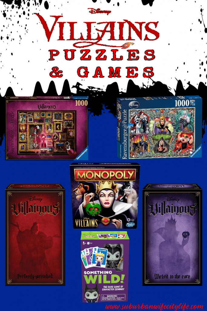 Disney Villains Games and Puzzles