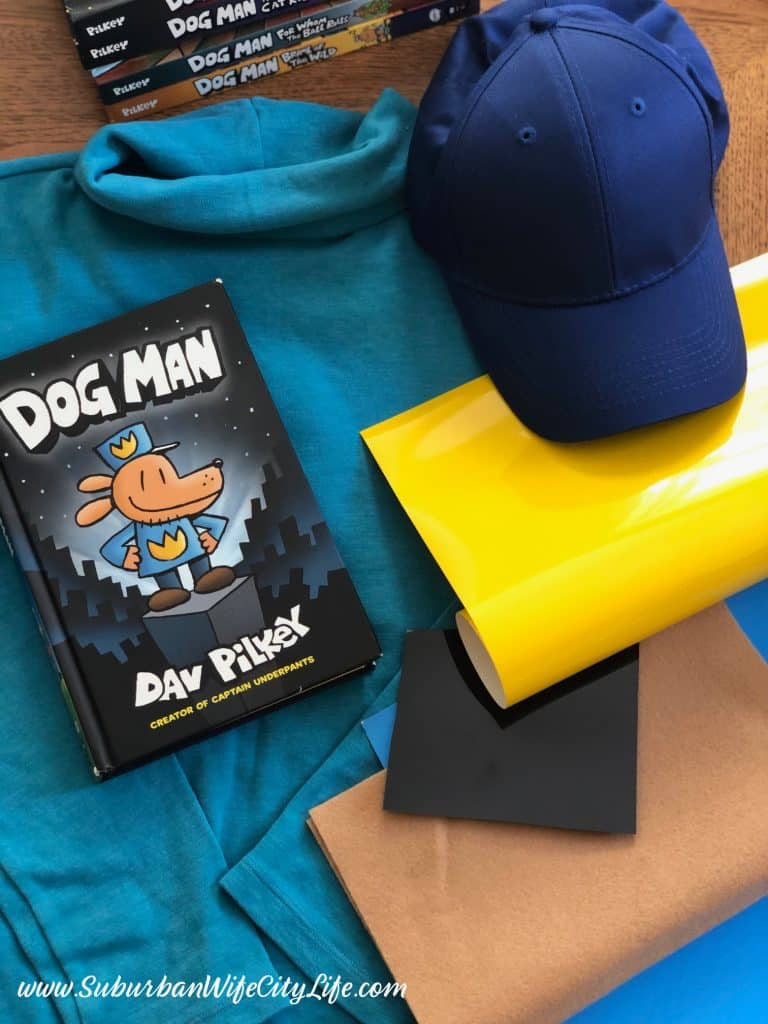 Dog Man costume supplies