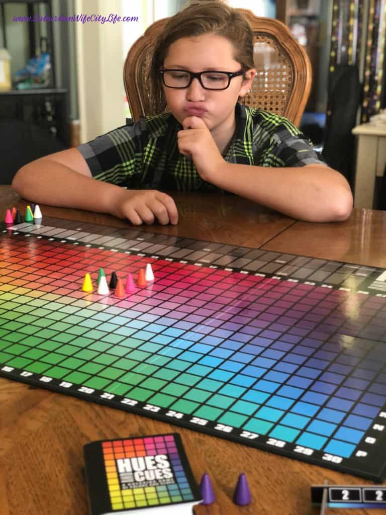 Family Game Hues and Cues