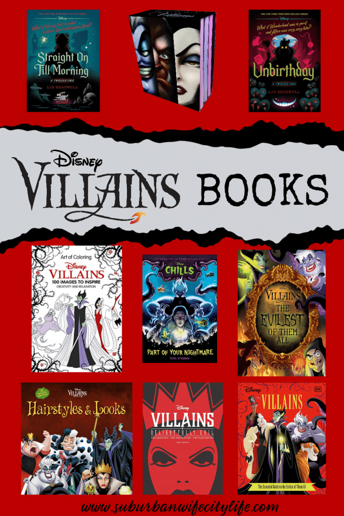 Disney Villain Books