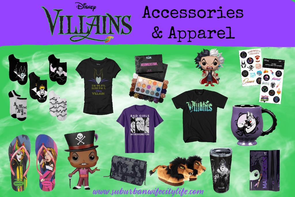 Villains Accessories & Apparel Blog
