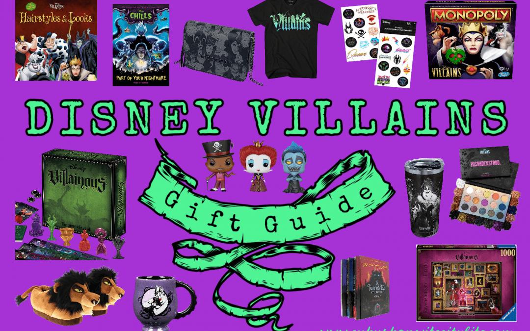 Disney Villains Gift Guide
