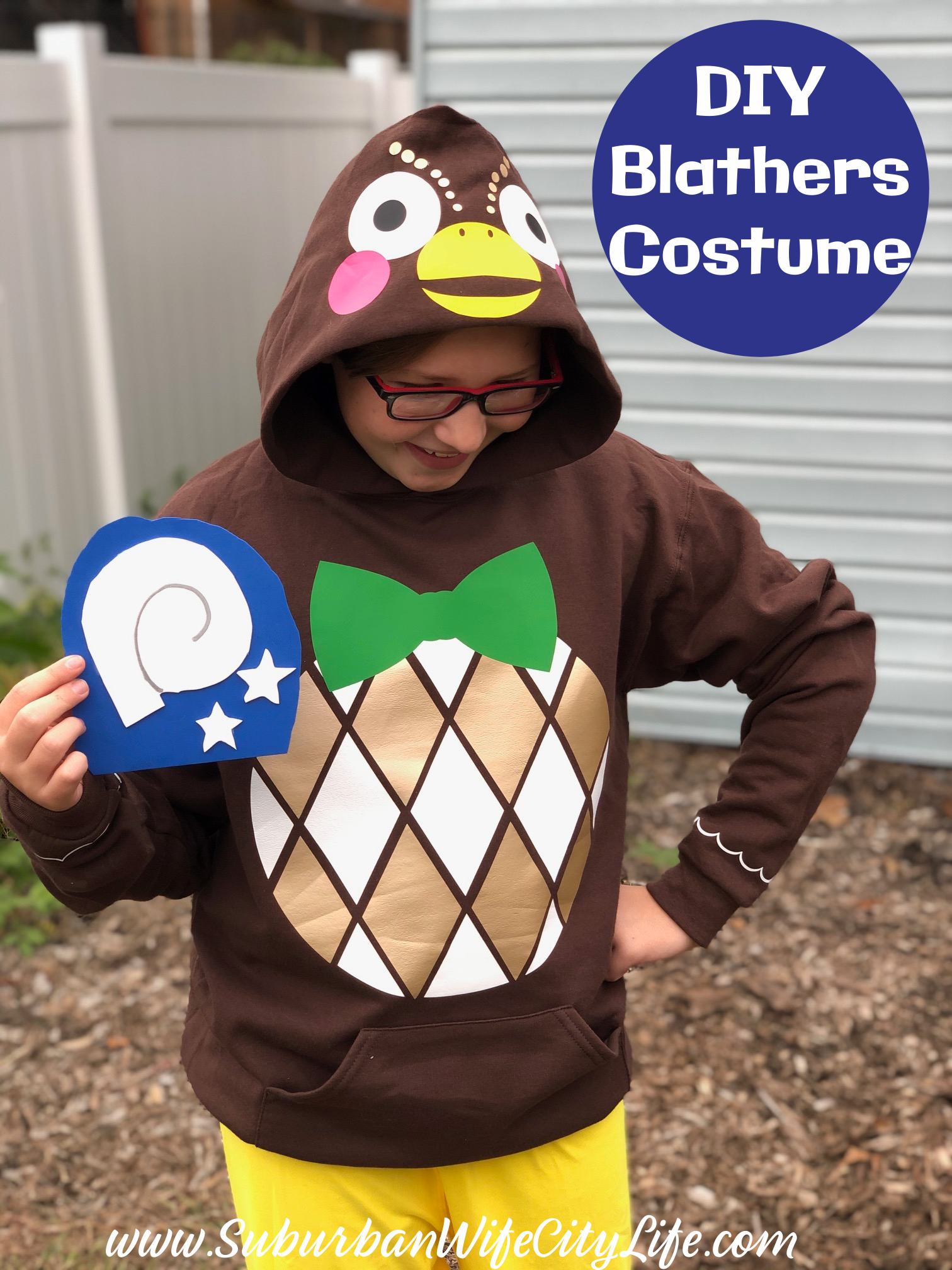 Blathers Costume from Animal Crossing