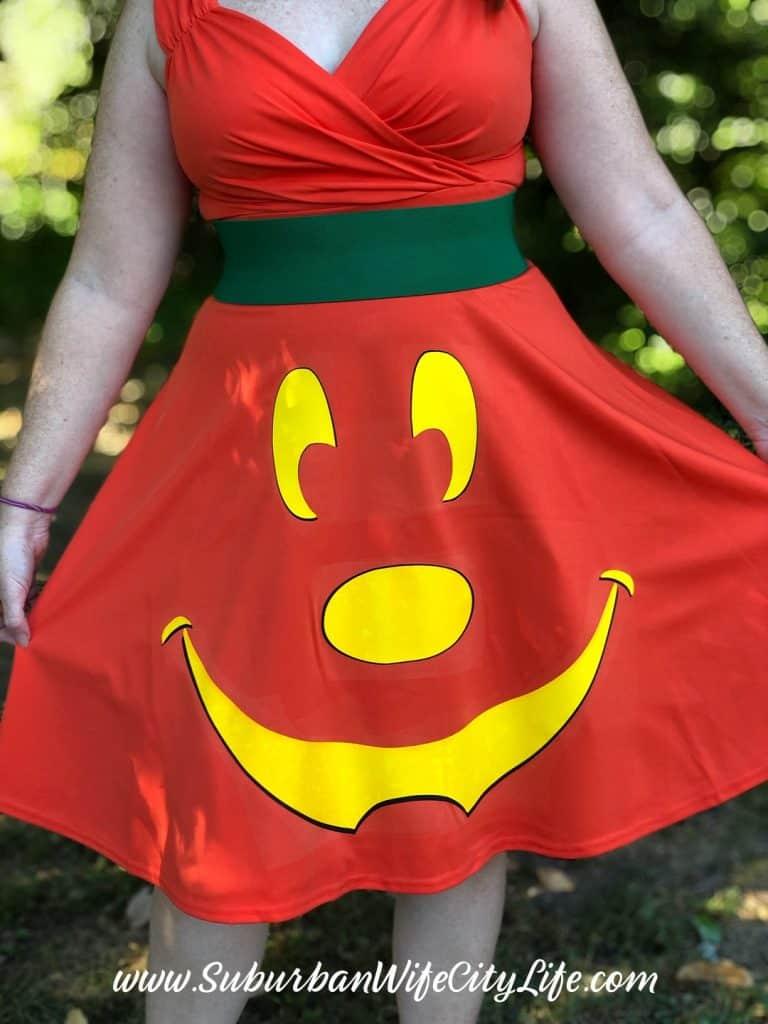 Disney Pumpkin Dress