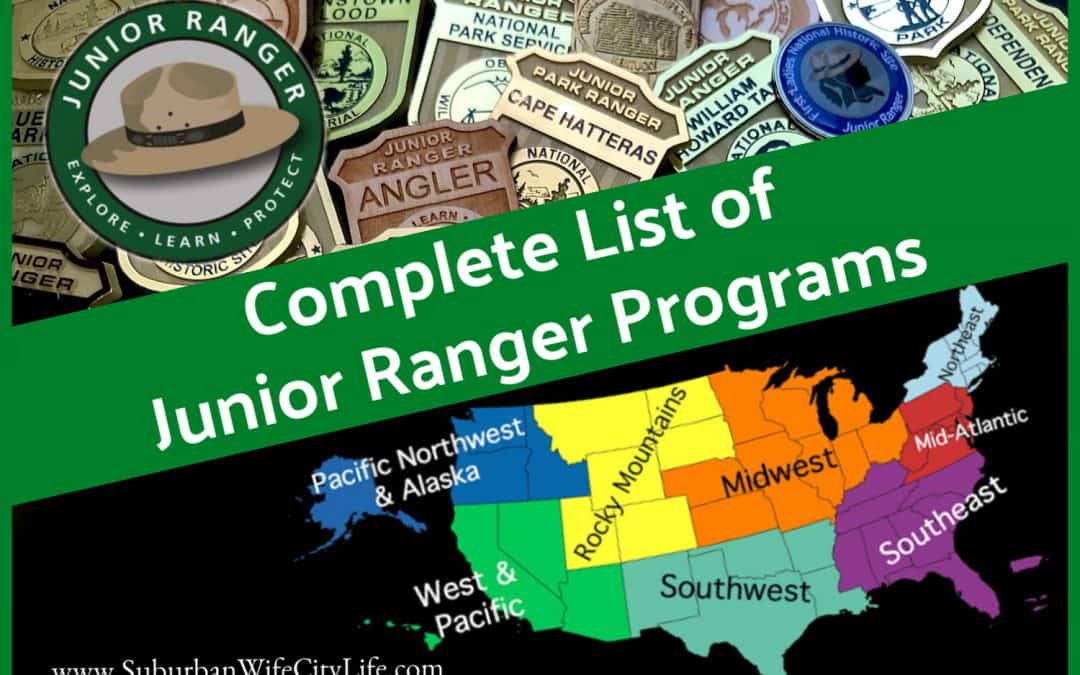 Complete List of Junior Ranger Programs