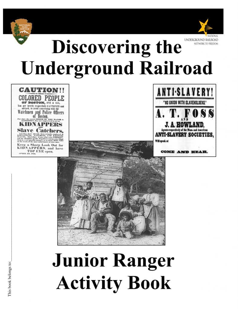 Junior Ranger Underground Railroad