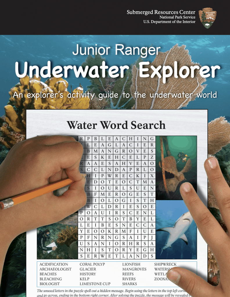 Junior Ranger Underwater Explorer