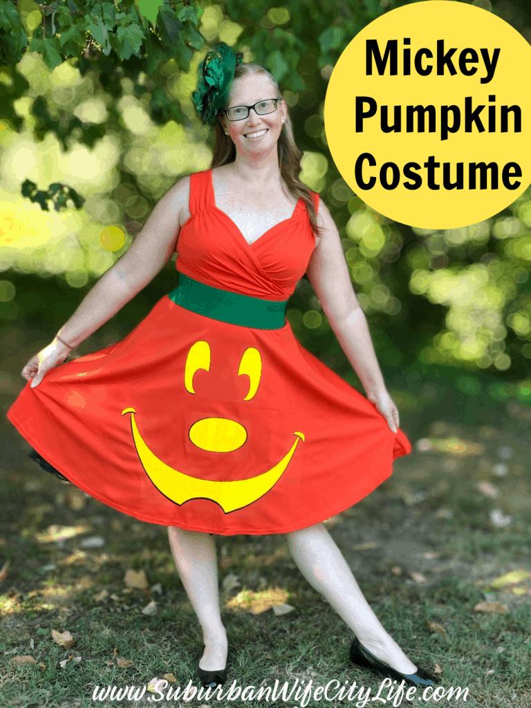 Mickey Pumpkin Costume