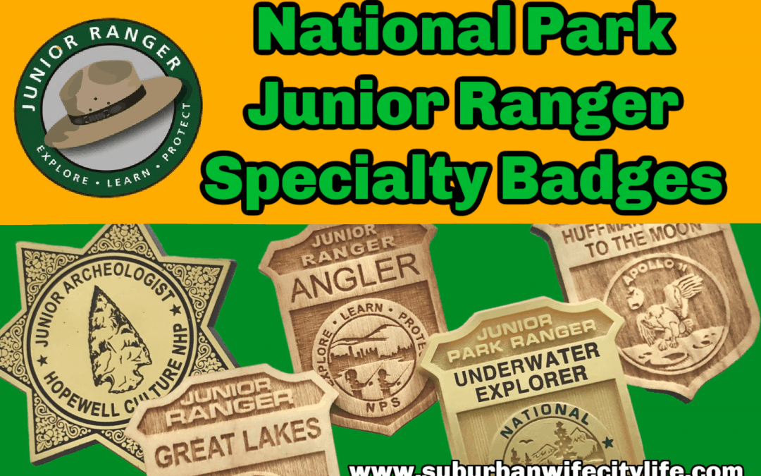Junior Ranger Specialty Badges