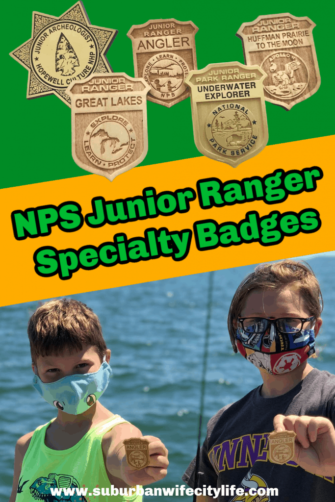 Specialty Junior Ranger Badges