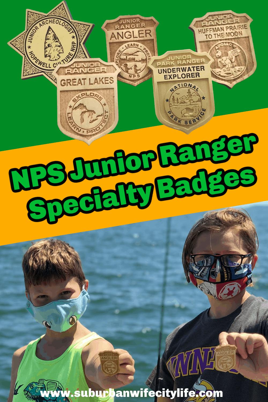 Specialty Junior Ranger Badges