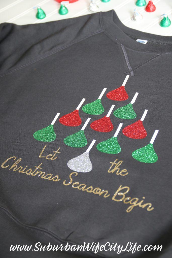 Hershey Kiss Christmas Shirt