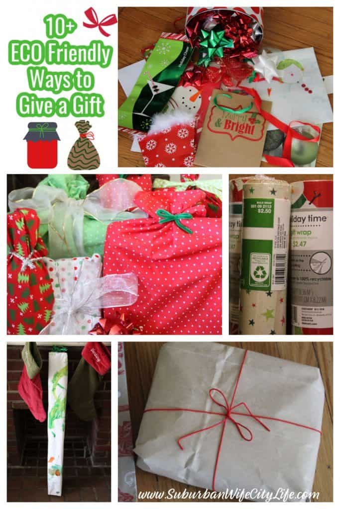 10+ Eco Friendly Ways to give a gift