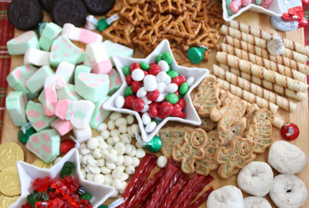 Christmas Candy Charcuterie