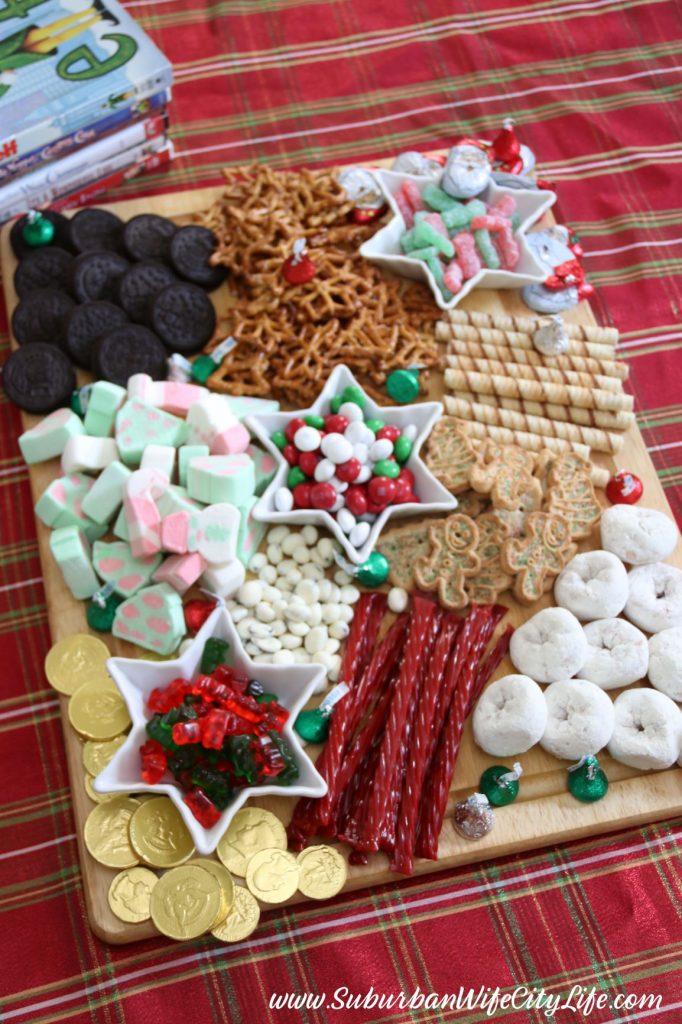 DIY Christmas Candy Charcuterie