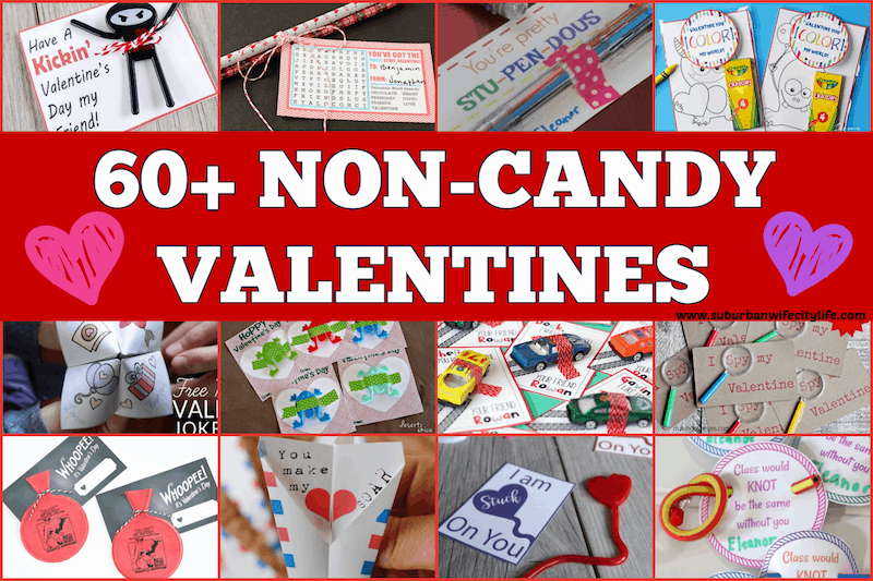 60+ Non-Candy Valentines