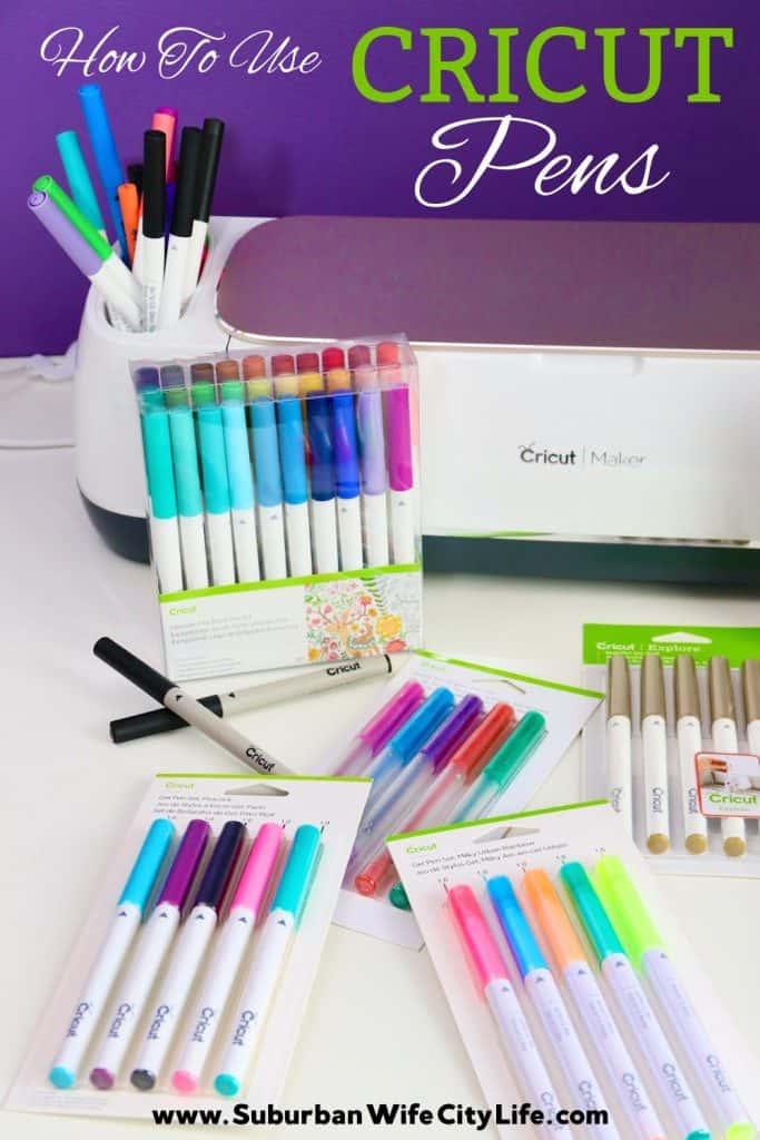 Cricut Pens Guide