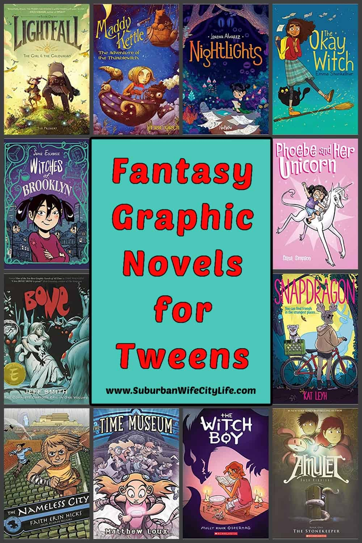 Fantasy Graphic Novels for Tweens