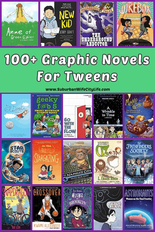 Graphic Novels for Tweens