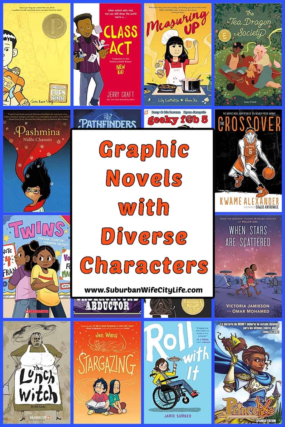 Graphic Novels with Diverse Characters