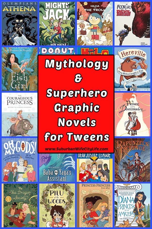 Mythology & Superhero Graphic Novels for Tweens
