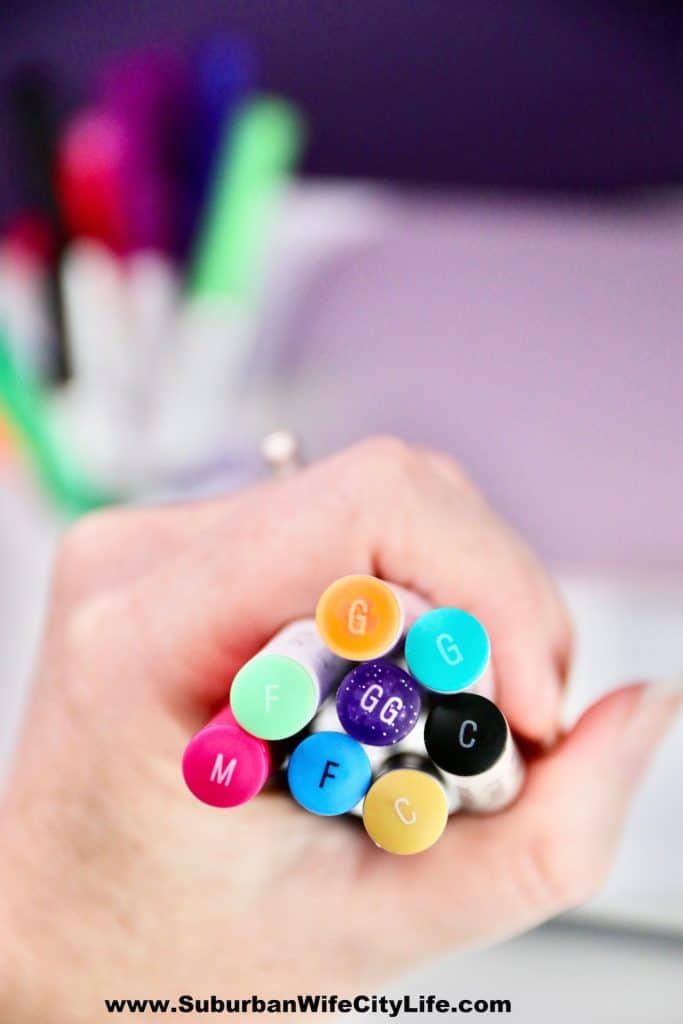 Types of Cricut Pens and Markers