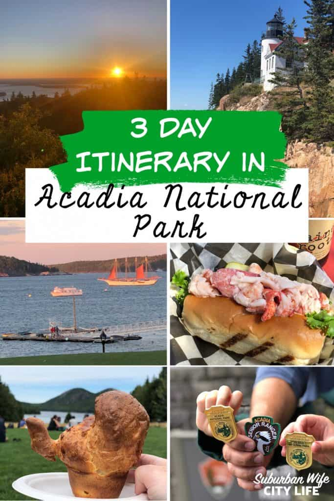 3 Day Itinerary in Acadia National Park