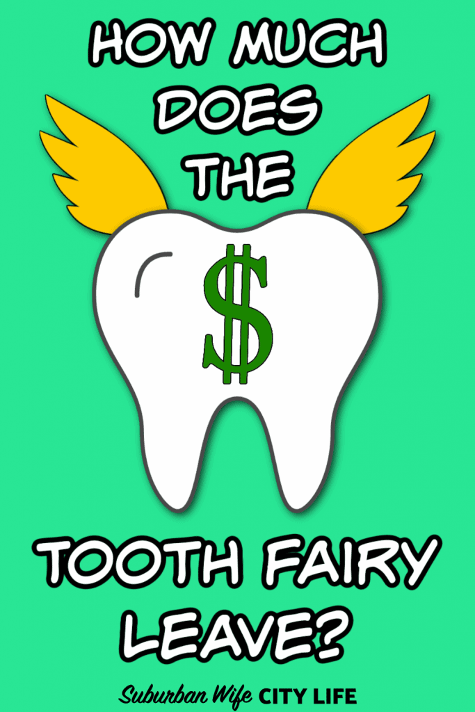 How much does the Tooth Fairy leave_