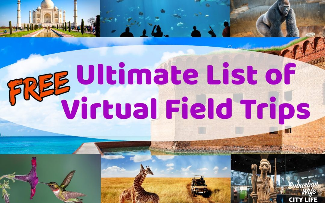 Ultimate List of Free Virtual Field Trips