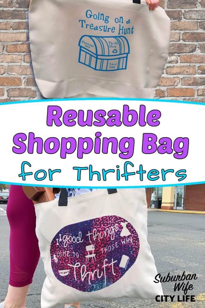 Thrifters Reusable Shopping Bag