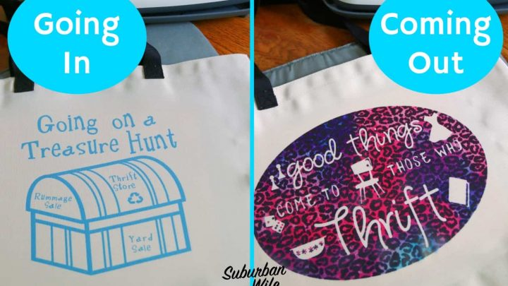 Reusable Shopping Bag - for Thrifters