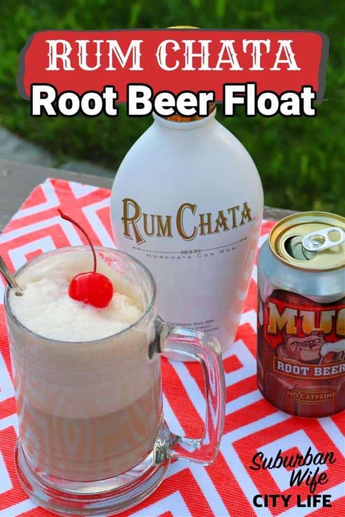 Adult Root Beer Float with Rum Chata