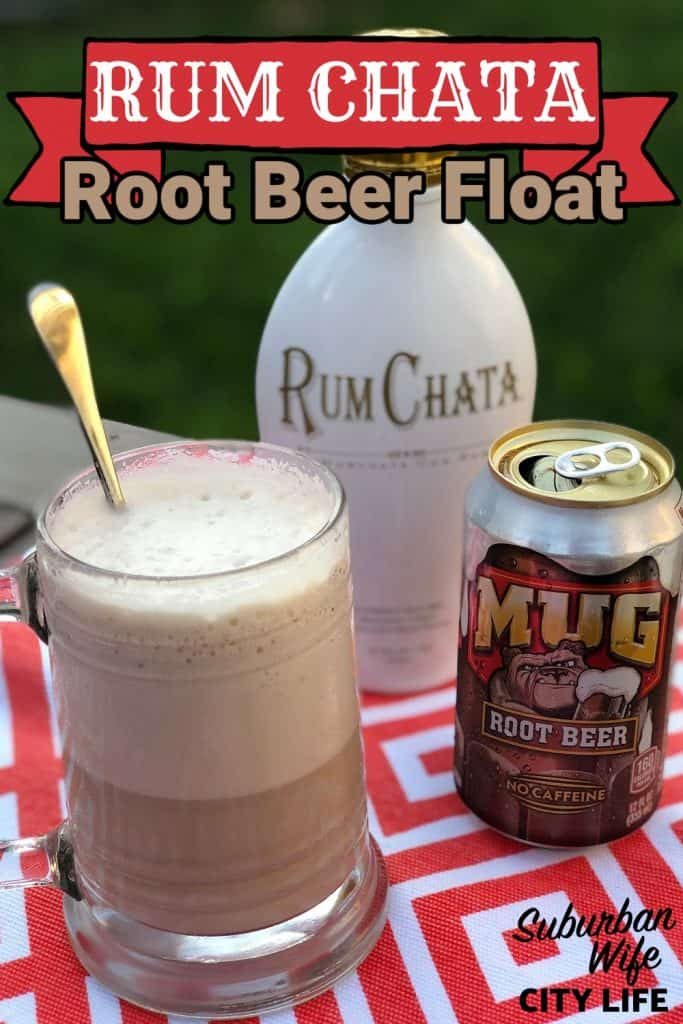 Root Beer Float with Rum Chata