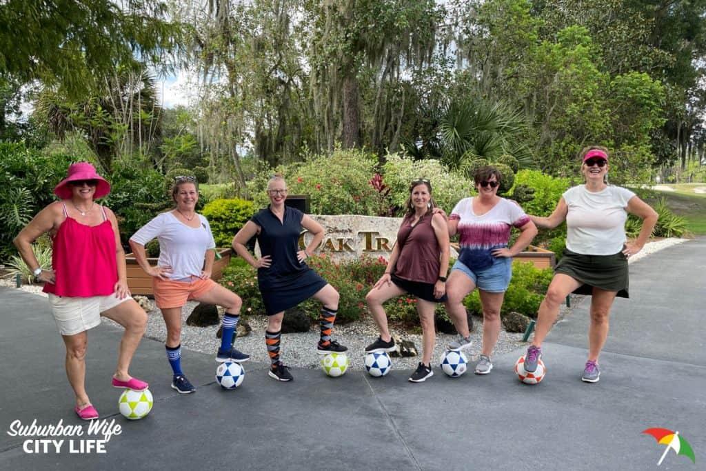 FootGolf at Disney's Oak Trail