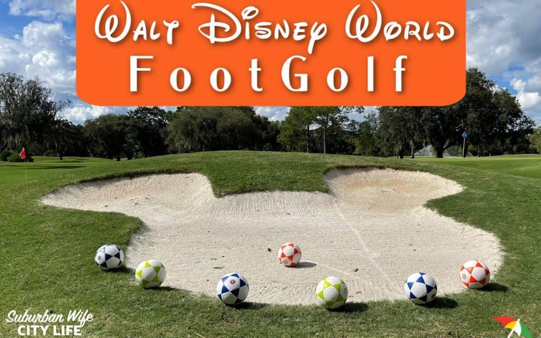 Walt Disney World Footgolf