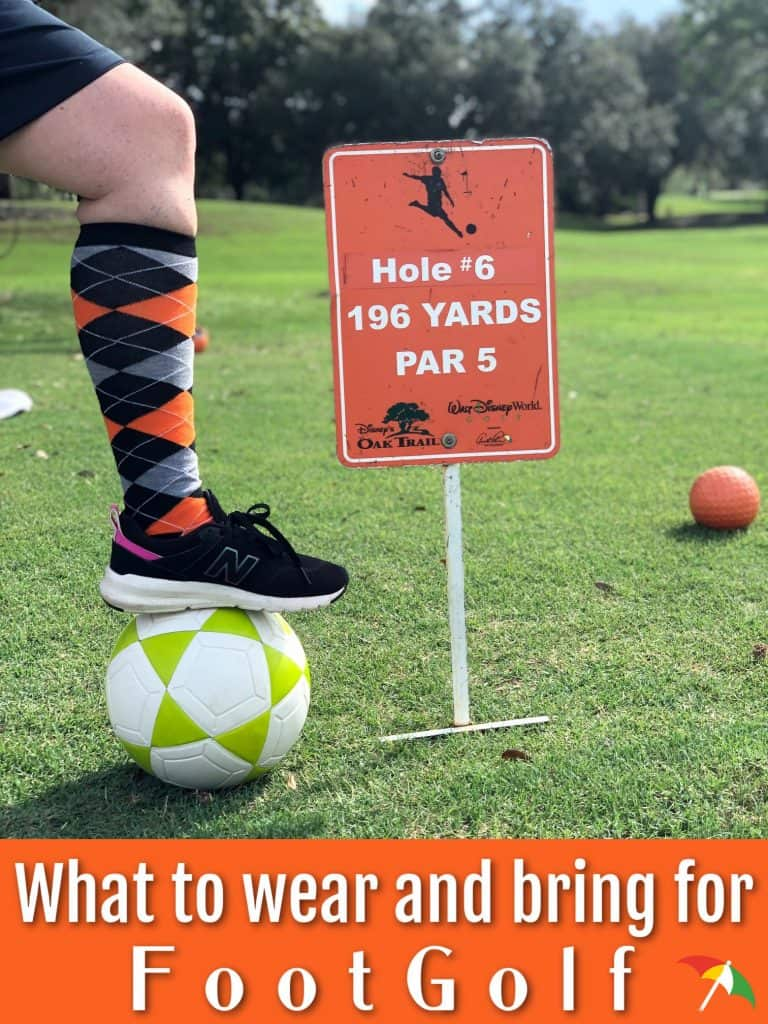 What to wear for FootGolf
